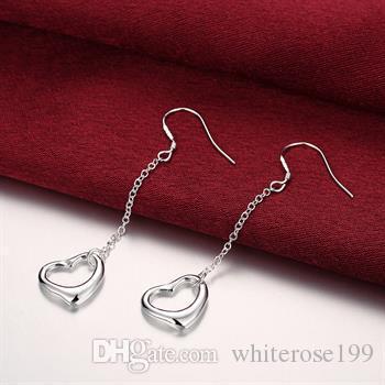 Vente en gros - Prix le plus bas cadeau de Noël 925 Sterling Silver Fashion Earringsy E086
