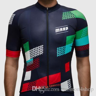 2021 MAPP 팀 사이클링 저지 자전거 의류 Ropa de Ciclismo 남자 MTB에 대 한 100 % 폴리 에스터 자전거 의류