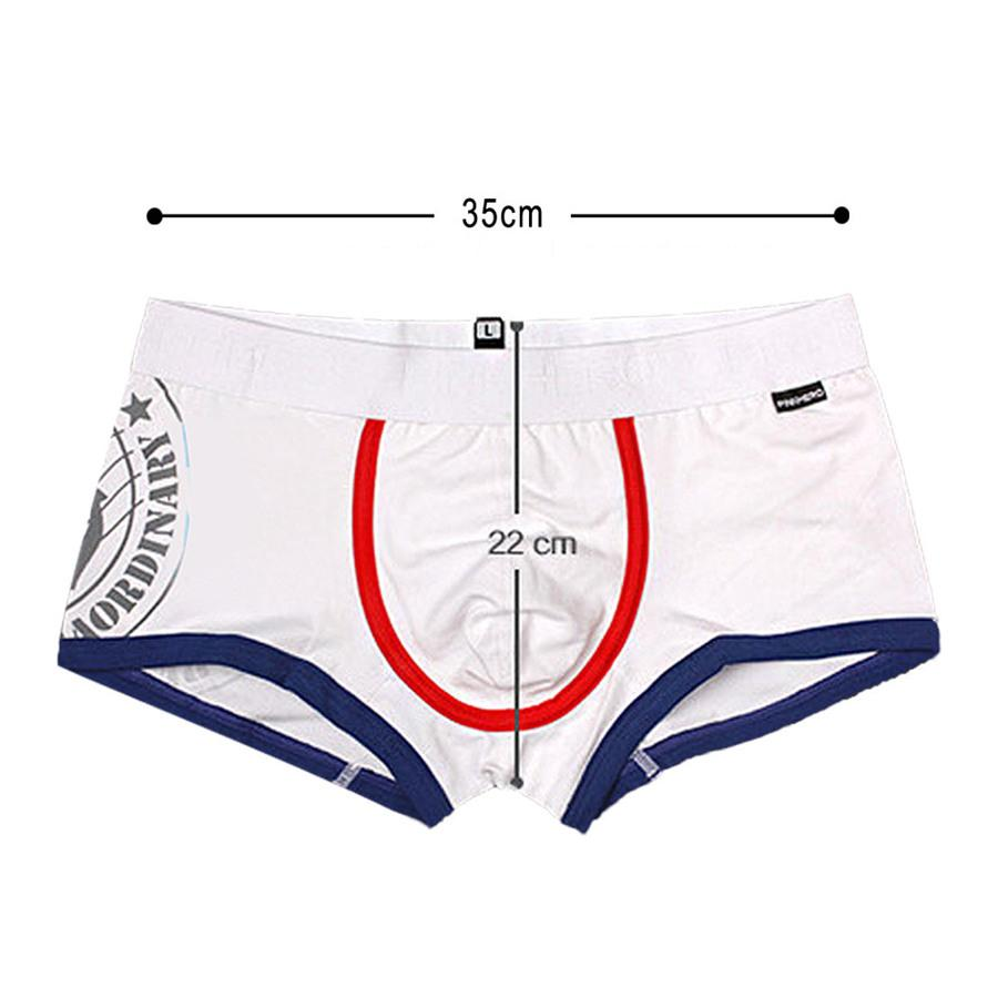 PINK HEROES 4 New Color Cotton Yarn Dyed Fashion Brand Men's Boxer Underwear Wholesale Manufacturers Sexy Underwear 1235
