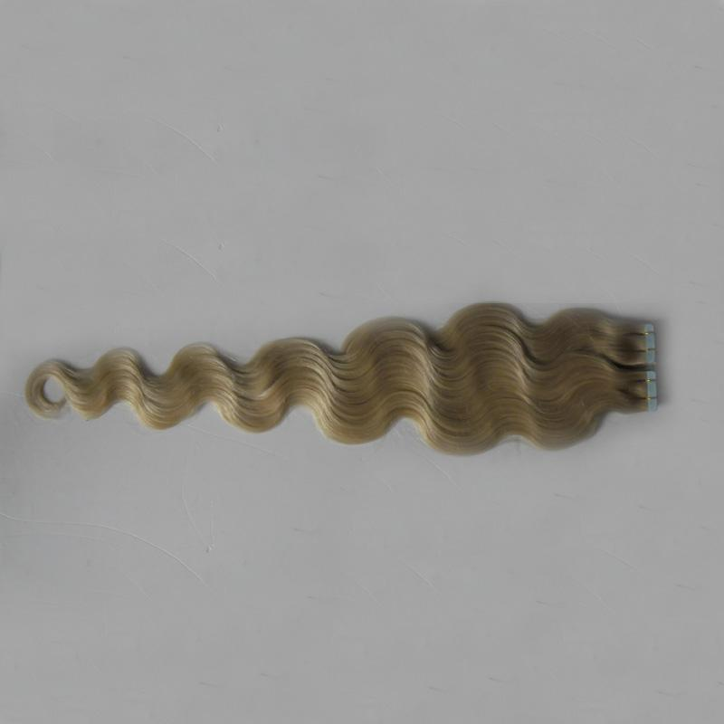 613 Bleach Blonde human hair extension blond 100g Skin Weft Hair Tape In Remy Human Hair Extensions brazilian body wave