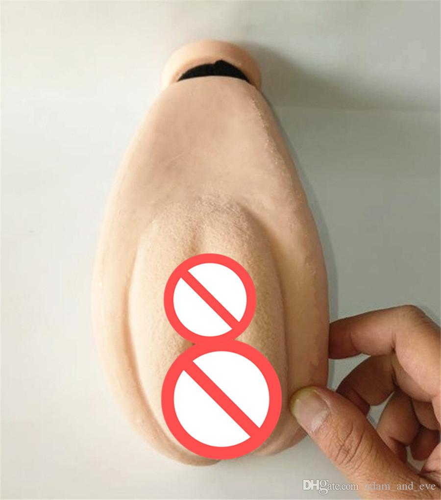 Solo Flesh Sex Doll Male Masturbactor Inyección de agua tibia de relleno Inflatable Silicone Realistic Pussy Real Body Temperature Big Ass Toy