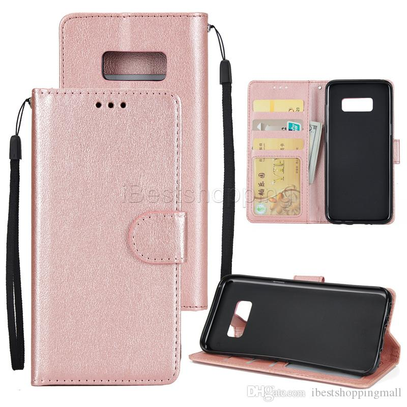 Wallet PU Leather Card Slot Photo Frame Wallet Back Cover Pouch For Samsung S6 S7 Edge J710 J510 J310 Sony XZ XZP XA1