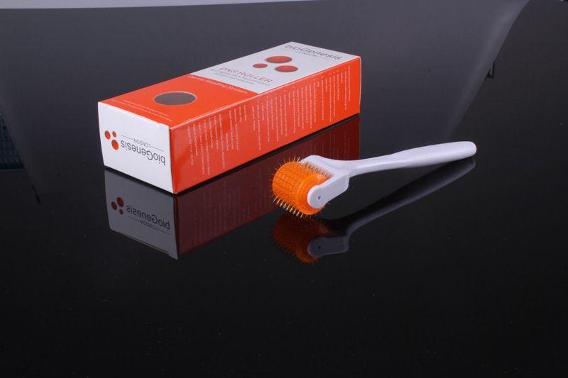 DNS Microneedle Derma Roller Micro Titanium 200 Needles Skin Care Rejuvenation Therapy Treatment Health Beauty Tool Anti Hair Lost