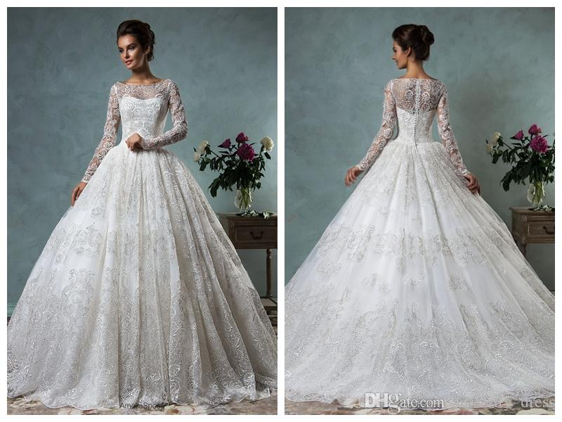 Lace Ball Gown Wedding Dresses: 2017 Lace Ball Gown Wedding Dresses Diana Wedding Dress