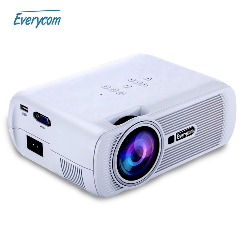 Online Cheap Wholesale 2016 HOT Everycom X7 Mini Video Projector FULL HD  1080p Home Theater Led TV Beamer Mini Portable Lcd Proyector By Knite09 |  DHgate.