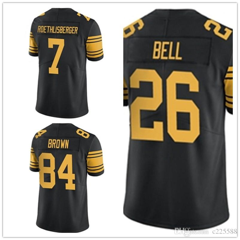 ben roethlisberger jersey color rush