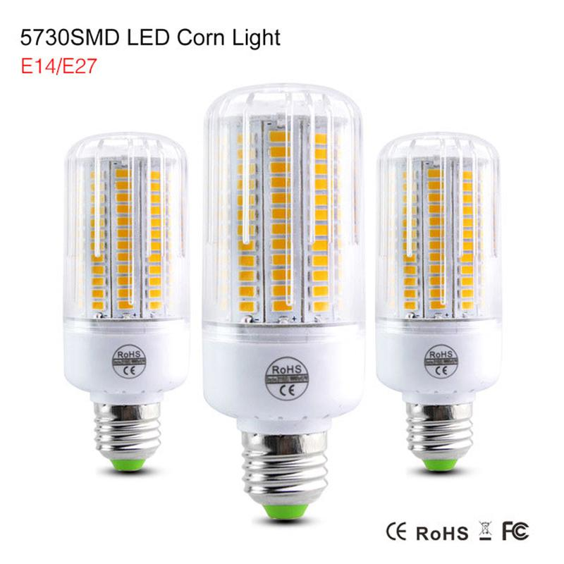 Smd5730 Spot Lumière Smd Lampe Lumar Luz 220v Lampada Bombillas Ampoule Élevé E27 E14 Led Bougie Lamparas mNwvn08
