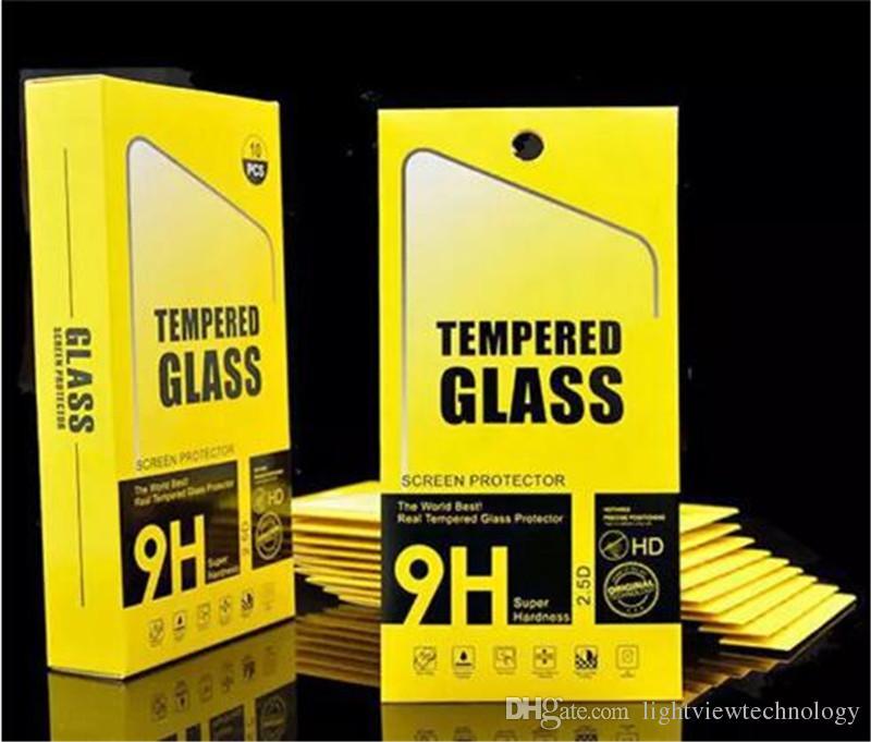 لفون 8 زائد iPhone X 0.26mm 2.5D 9H الزجاج المقسى حامي الشاشة لفون 7 زائد 6S 5S S7 حافة