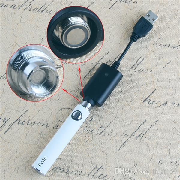Moq Vapes Evod Ecig Batterier 650 900 1100 mAH 510 Vape batteri elektronisk cigarett för patroner CE4 Atomizer