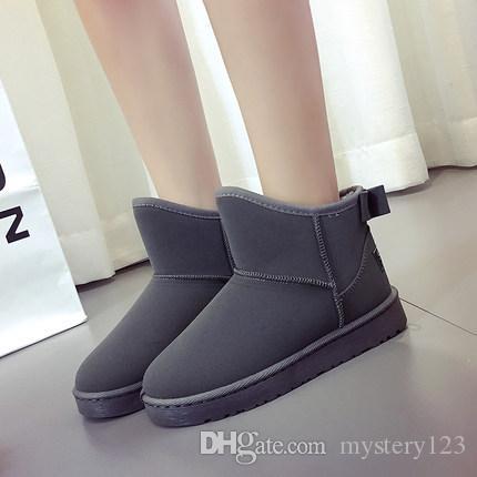 2017 nueva moda australiana botas altas de invierno botas de cuero botas bota botas de nieve de alta calidad envío gratis