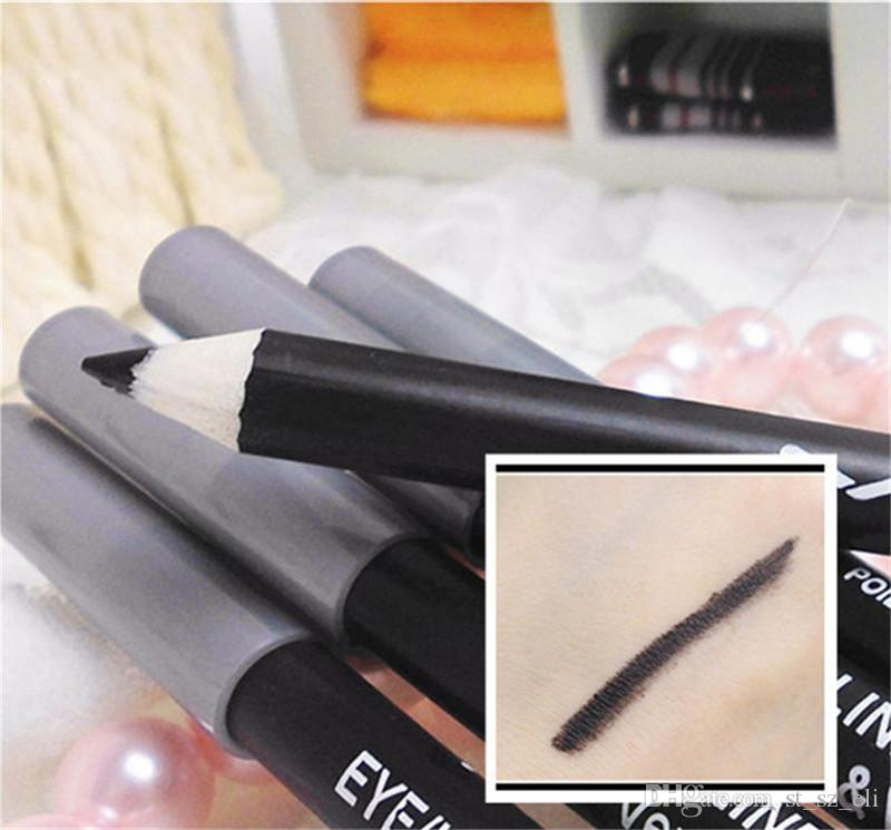 Brand New Cosmetics Professional Duo Way Eyeliner/Eye Brow Pencils with Aloe Vera&Vitamin E brown/black free DHL Shipping