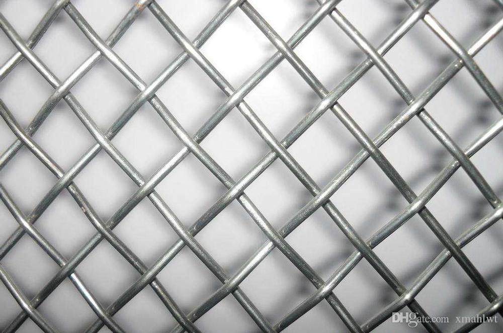 2018 High Quality Crimped Stainless Steel Wire Mesh Standard Plain ...