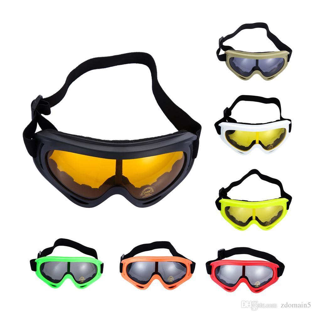 466b24f6b16 Outdoor Skiing Snowboard Dustproof Anti-fog Glasses Motorcycle Ski Goggles  Lens Frame Eye Glasses Swimming Goggles Sunglasses