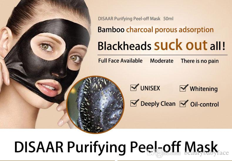 Peel Off Face Masks Deep Cleansing Black MASK 50ML Blackhead Facial Mask Vs PILATEN Facial Minerals Conk Homemade Facial Mask For Acne Masks For Face From ...