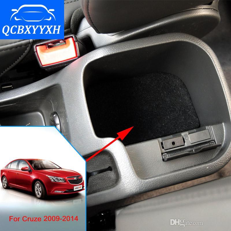 Крышка для Chevrolet Cruze 2009-2014 подлокотник коробка Центральный магазин содержание Box подстаканник интерьер стайлинга автомобилей продукты аксессуары