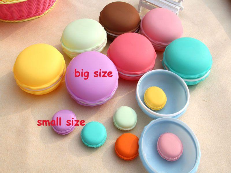4.2*4.2cm Mini Macaron Bags Earphone SD Card Storage Box Case Carrying Pouch Small Pills Jewelry Box Organizing Drop Shipping