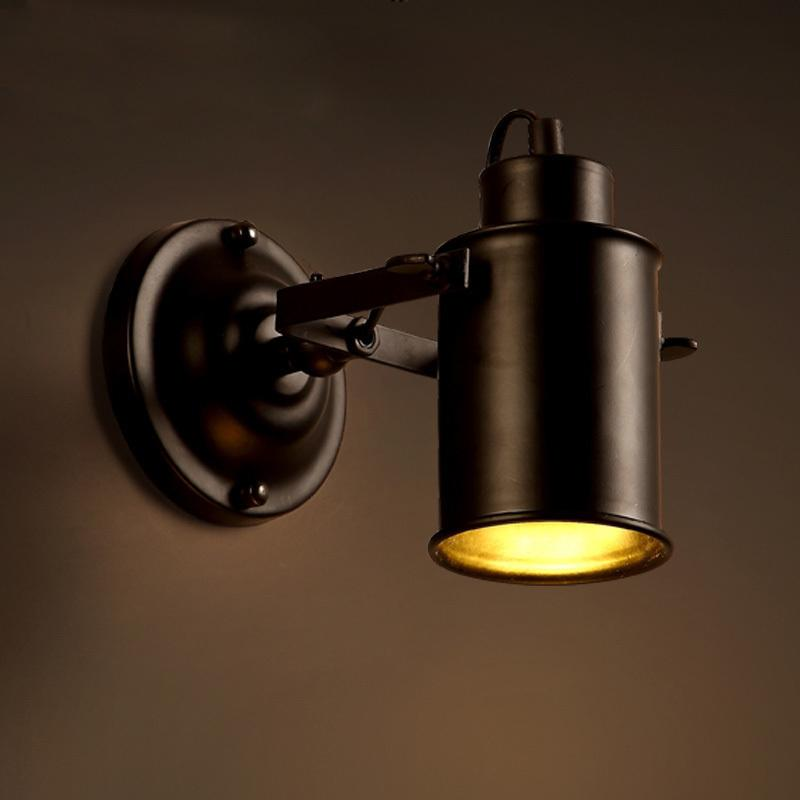 Best Vintage Loft Wall Lamps Iron Metal Wall Light Fixtures Country ...