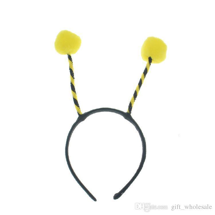 Child & Adult Ball Ladybug Fly Bee Ant Headwear Cosplay Antenna Headband Hair Band Costume