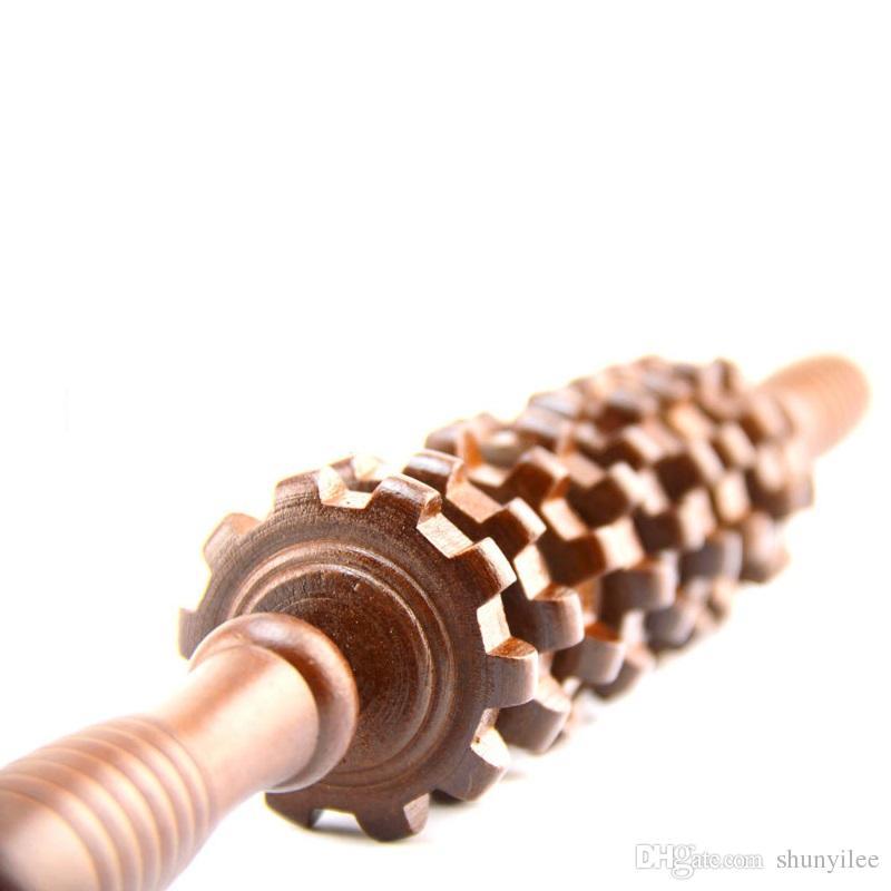مدلك الرعاية الصحية أداة إصابة الخشب ممارسة الأسطوانة رياضة gym الجسم الذراع الخلفي الساق الزناد نقطة العضلات الأسطوانة عصا ZA2419