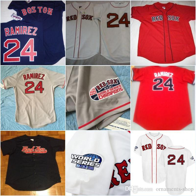 2019 Men S Boston Red Sox MANNY RAMIREZ Baseball Sewn Jersey Throwback  Stitched Embroidery Logos Baseball Jerseys Authentic Collection From  Ornaments Shop be67a805bb4