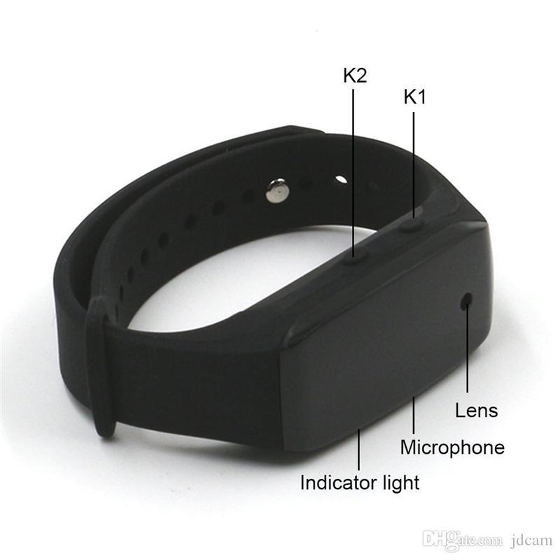 HD 1080P Sport tragbare Armband Camcorder tragbare Covert Kamera wiederaufladbare Videorecorder mit Audio-Aufnahme im Kleinkasten