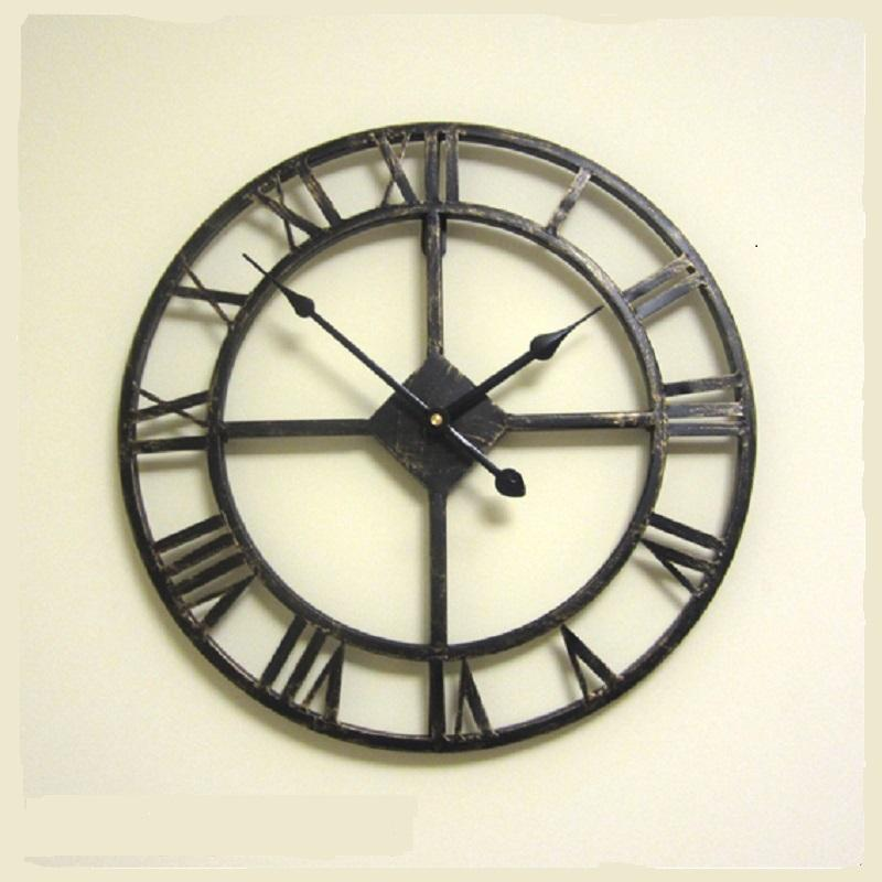 Wholesale 3d Vintage Wall Clock Decorative Retro Wall Watch Clocks Digital  Saat Duvar Saati Klok Muur Relogio Parede Reloj Pared Watches Small Kitchen  ...