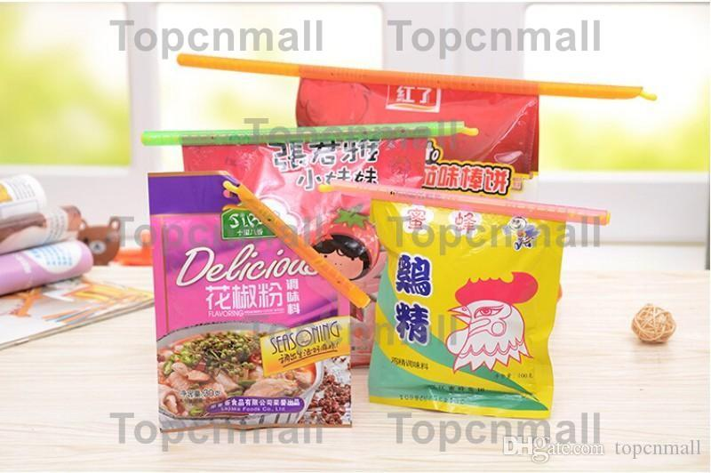 Bag Clips 4 Sizes Seal Stick Storage Chip Bag Fresh Food Snack Clip Grip Coffee Bag Clips