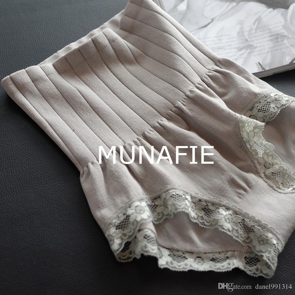 Hot-selling 2017 women munafie shapers seamless high waist abdomen drawing butt-lifting fat burning body shaping panties