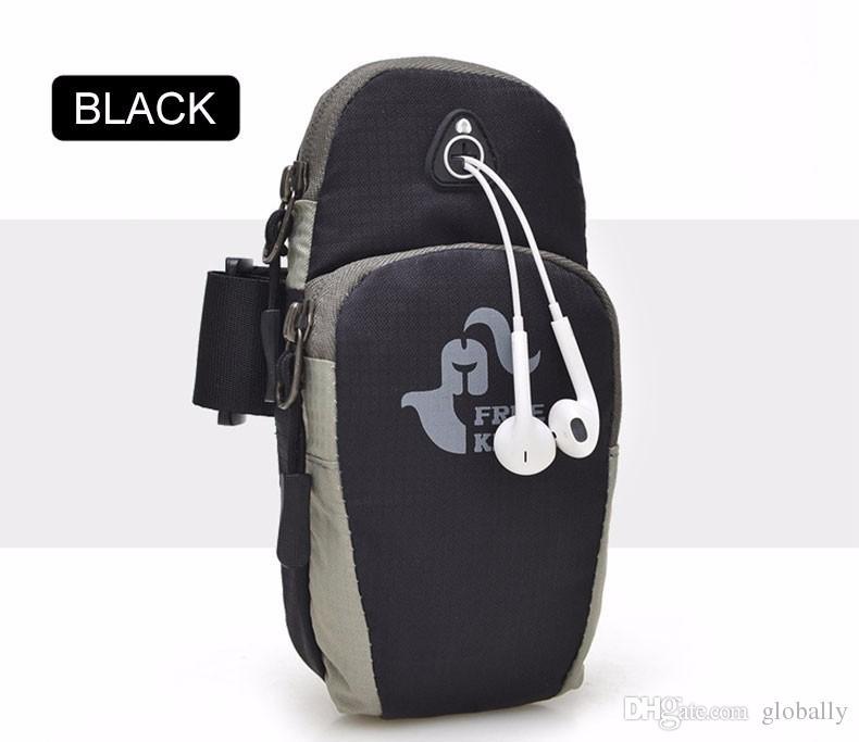 pour téléphone portable 6.0inch Universal Running Riding Nylon Arm Case pour iphone 6S Plus pour Samsung Galaxy S7 HTC Sport Sac