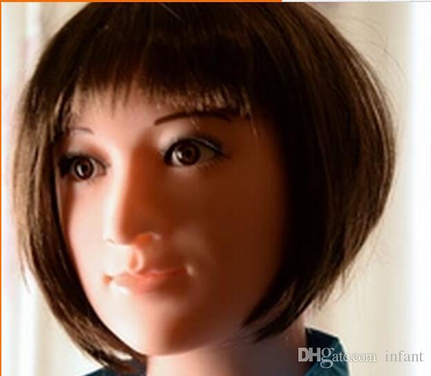Juguetes sexuales para adultos Hombres Sexy Girl Japón Realista Semi-sólido Love doll / Sex dolls / Muñecas inflables /