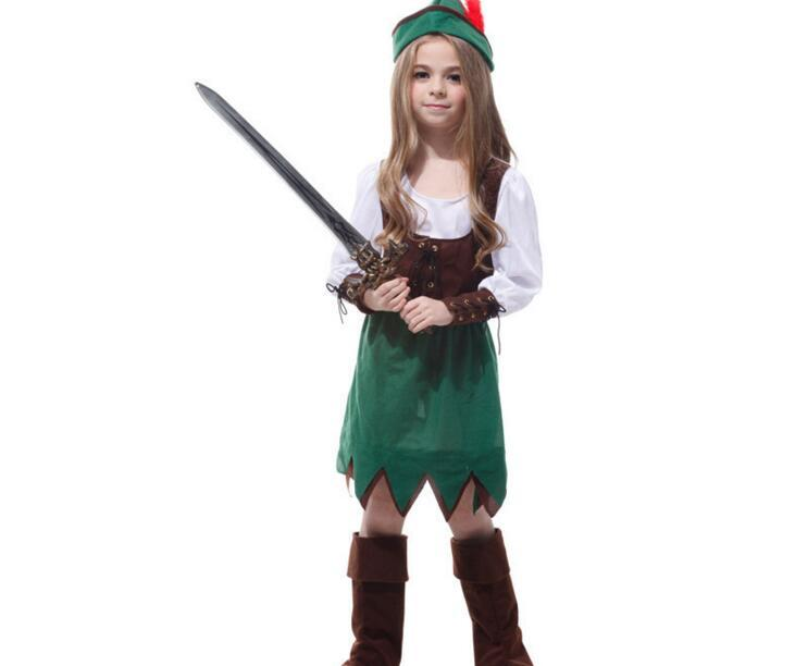 412 years girls peter pan princess halloween party cosplay costumes discounted baby kids pirate christmas costumes sets 5 person halloween costumes best