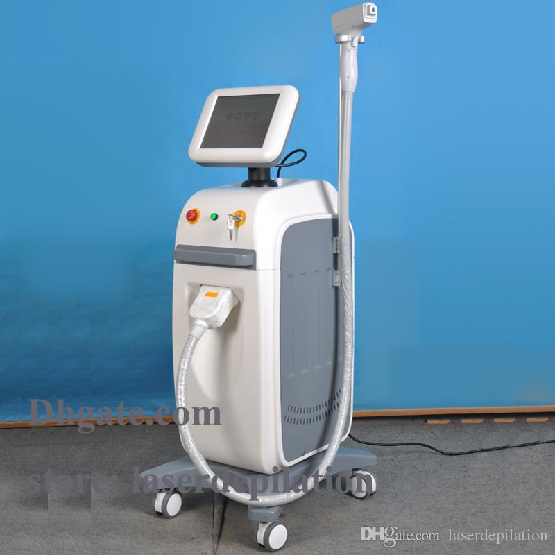 ألمانيا ديود الطبية CE جميع أنواع البشرة إزالة الشعر بسرعة 808nm الليزر ديود