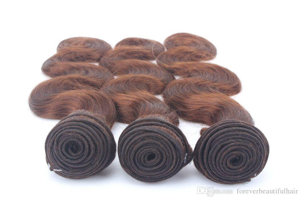 Brazillian Body Wave Sin procesar Brasileño indio indio virginal Cabello humano Venta al por mayor Paquete de armadura de cabello brasileño mojado y ondulado