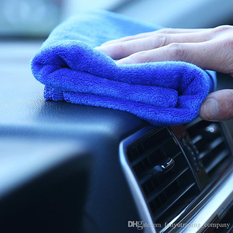 2018 جودة عالية الرئيسية حديقة مجهرية تنظيف السيارات غسيل السيارات منشفة ناعمة Duster30x30cm شحن مجاني