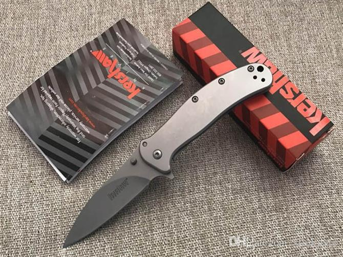 Sharp Kershaw 1730SS Top Quality 8C18Mov 59HRC Survival Tactical Hiking Knives Flipper Folding Knife With Clip Utility Gear F979L