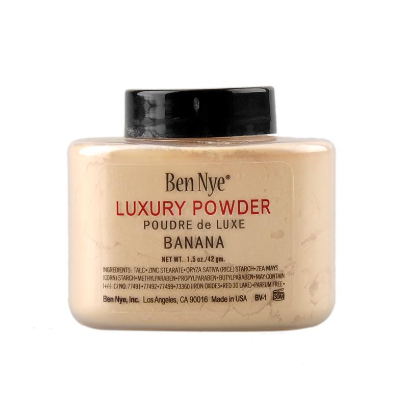 Verschiffen SCHNELL !! Ben Nye Luxuxpulver 42g neues natürliches Gesicht lose Pulver-wasserdichte nahrhafte Banane erhellen 660005