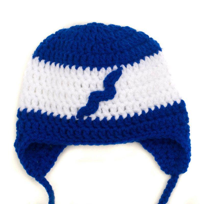 Großhandel Super Cool Crochet Hockey Team Hut Handmade Stricken ...