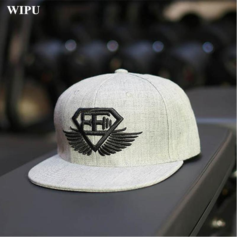 Wholesale WIPU 2017 Fitness Baseball Cap Hat Man Outdoor Sports Cap Hip Hop  Hat Tide GYM For Men Wholesale Hats Caps Online From Naixing 7894887a1b1