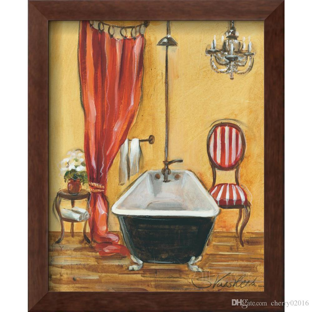 2018 Decorating Paintings Silvia Vassileva Tuscan Bath Modern ...