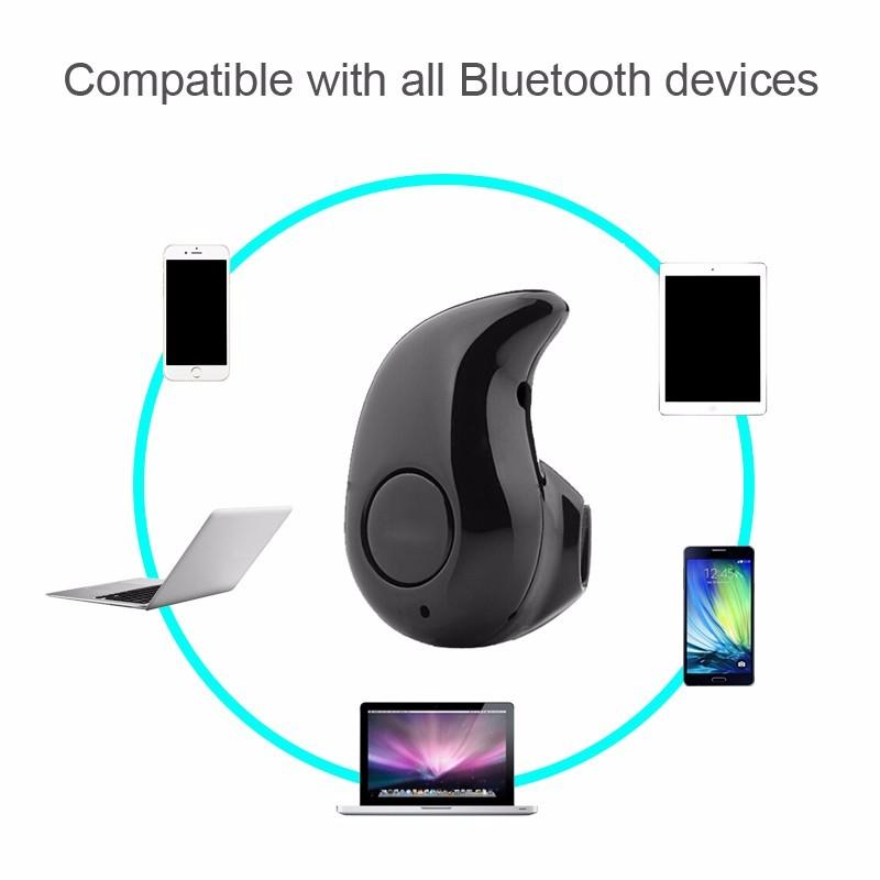 S530 Bluetooth 헤드셋 무선 미니 4 스텔스 이어폰 미니 스테레오 Bluetooth 헤드셋, 전화, 노트북, 기타 장치