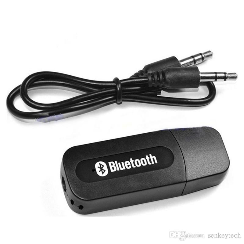 Portable USB Bluetooth Stereo Musik Empfänger Adapter Wireless Car Audio 3,5 mm Bluetooth Receiver Dongle für iPhone Lautsprecher mp3