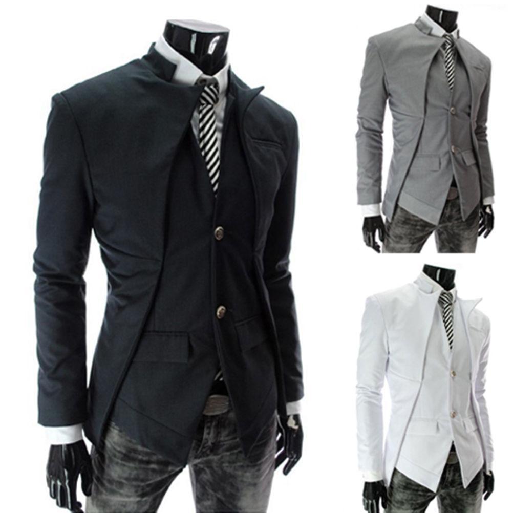 2017 Wholesale 2017 Men'S Casual Slim Fit Suits Blazer Male ...