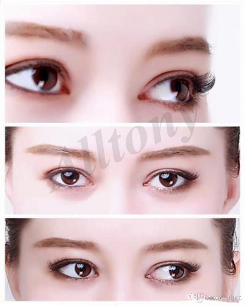 Wholesale-Magnetic False Eyelashes Extension 0.2mm 3D Magnetic Eyelashes Makeup Soft Hair Magnetic Fake Eyelashes with retail