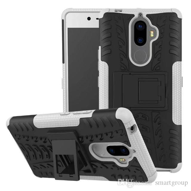 For Lenovo K8 Note Case Stand Rugged Combo Hybrid Armor Bracket Impact  Holster Protective Cover For Lenovo K8 Note Phone Cover Customized Phone  Cases