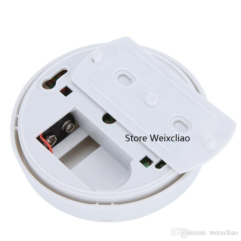 5 adet 1 grup Ile 9 V Pil Seçeneği Genel Amaçlı Duman Alarmı Kablosuz Dedektör Yangın Sensörü Monitör Tüm Alanlar için Akülü Ücretsiz Kargo