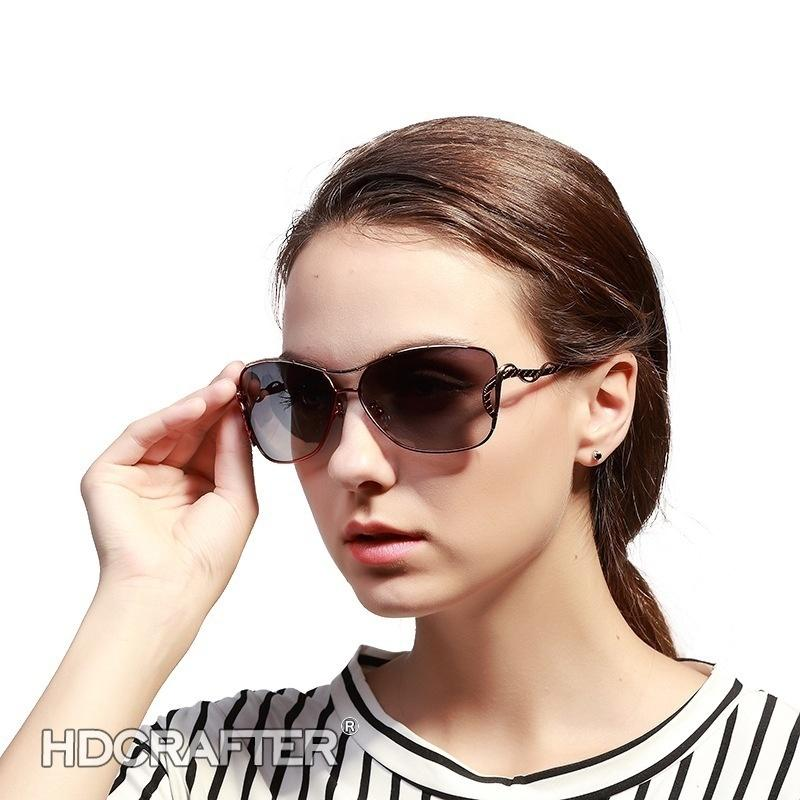 ec21671459c Summer Fashion Large Frames Women s Sunglasses Polarized Driving Classic UV  Protection Eyewear Women s Sunglasses Polarized Driving Classic Sunglasses  S UV ...