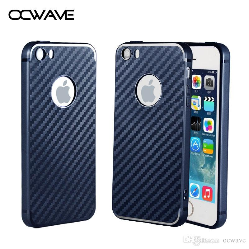 ocwave ultra thin case for iphone 5s 5 se soft rubber carbon fiberbest tempered glass protector film iphone 5s cheap iphone 5s vintage cases