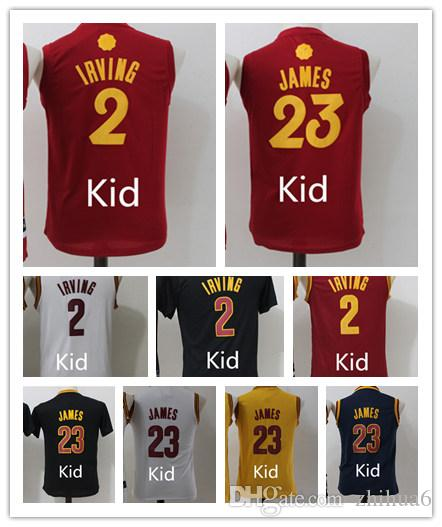 88db90b4a ... discount code for code for wholesale youth 23 lebron 2 kyrie irving  james basketball jerseys stitched