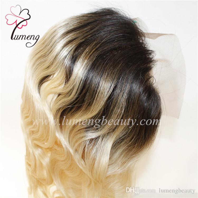 promotion cheap lace frontal women wigs 100% brizilian virgin human hair lace frontal T color ear to ear hairpieces top wigs.