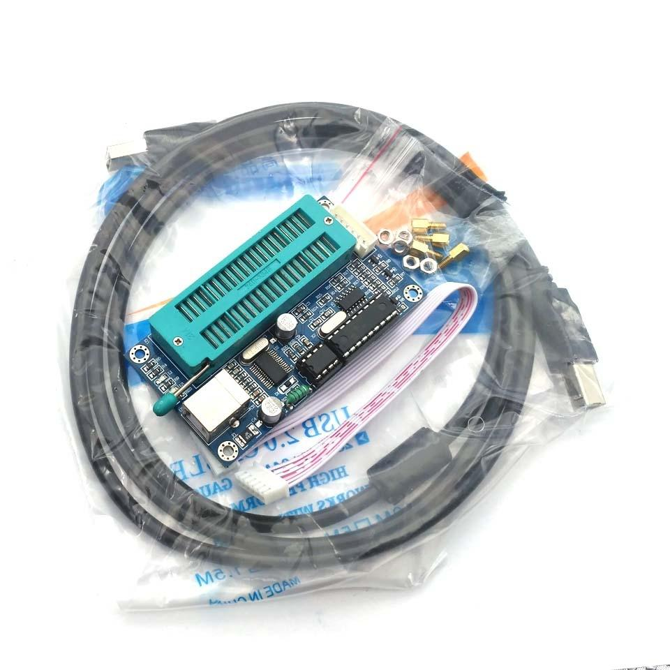 Discount Hot Sale Programmer Usb Automatic Programming Develop Pic16f73 Based Temperature Indicator And Controller Best Engineering Microcontroller Pic K150 Icsp From China